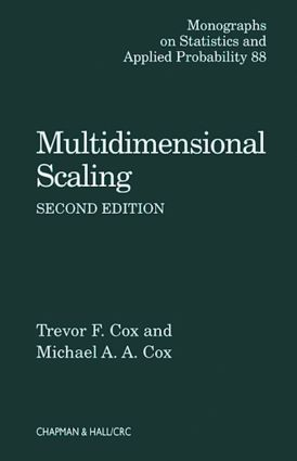 Multidimensional Scaling: 2nd Edition (Hardback) book cover