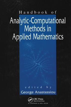 Handbook of Analytic Computational Methods in Applied Mathematics: 1st Edition (Hardback) book cover