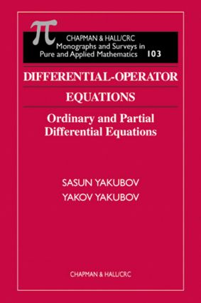 Differential-Operator Equations: Ordinary and Partial Differential Equations book cover