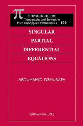 Singular Partial Differential Equations book cover