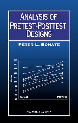 Analysis of Pretest-Posttest Designs (Hardback) book cover