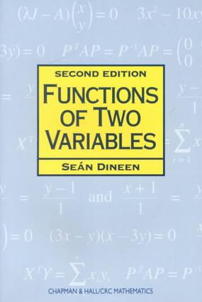 Functions of Two Variables: 2nd Edition (Paperback) book cover