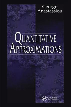 Quantitative Approximations: 1st Edition (Hardback) book cover