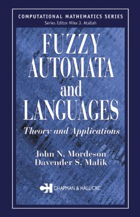 Fuzzy Automata and Languages: Theory and Applications, 1st Edition (Hardback) book cover