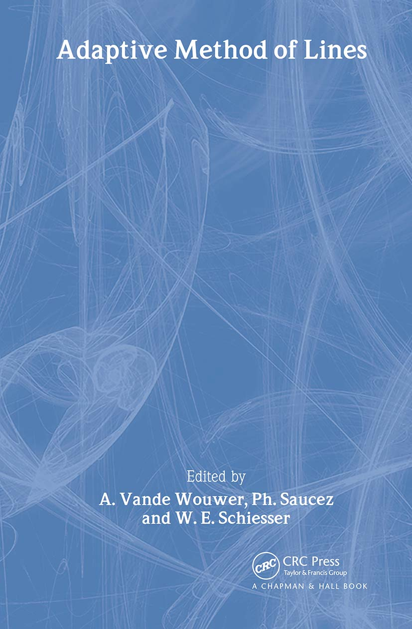 Adaptive Method of Lines: 1st Edition (Hardback) book cover