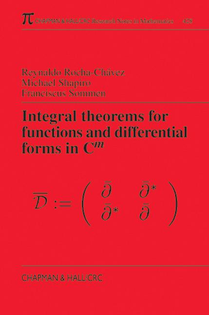 Integral Theorems for Functions and Differential Forms in C(m): 1st Edition (Paperback) book cover