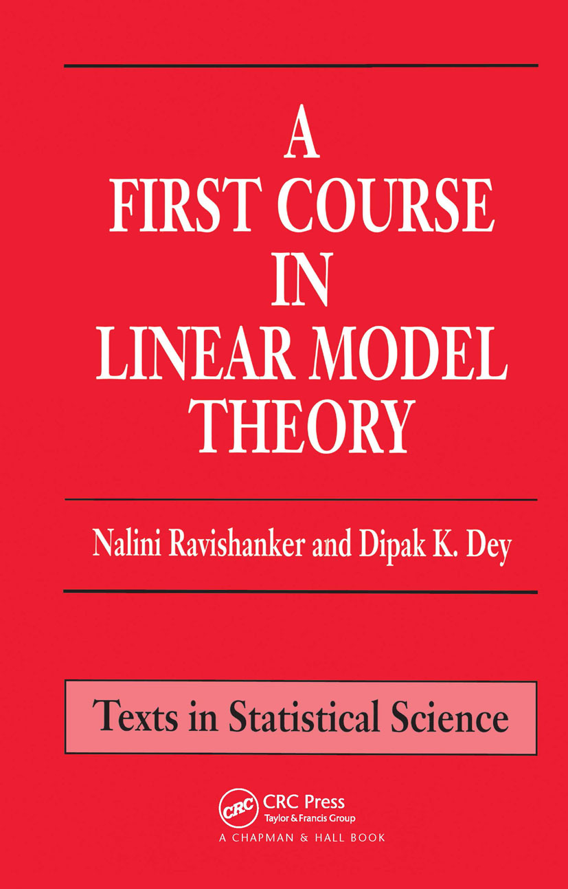 A First Course in Linear Model Theory (Hardback) book cover