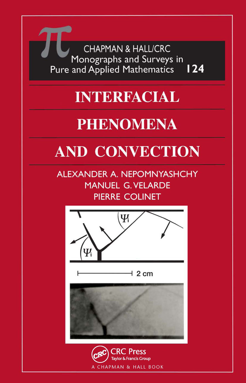 Interfacial Phenomena and Convection book cover