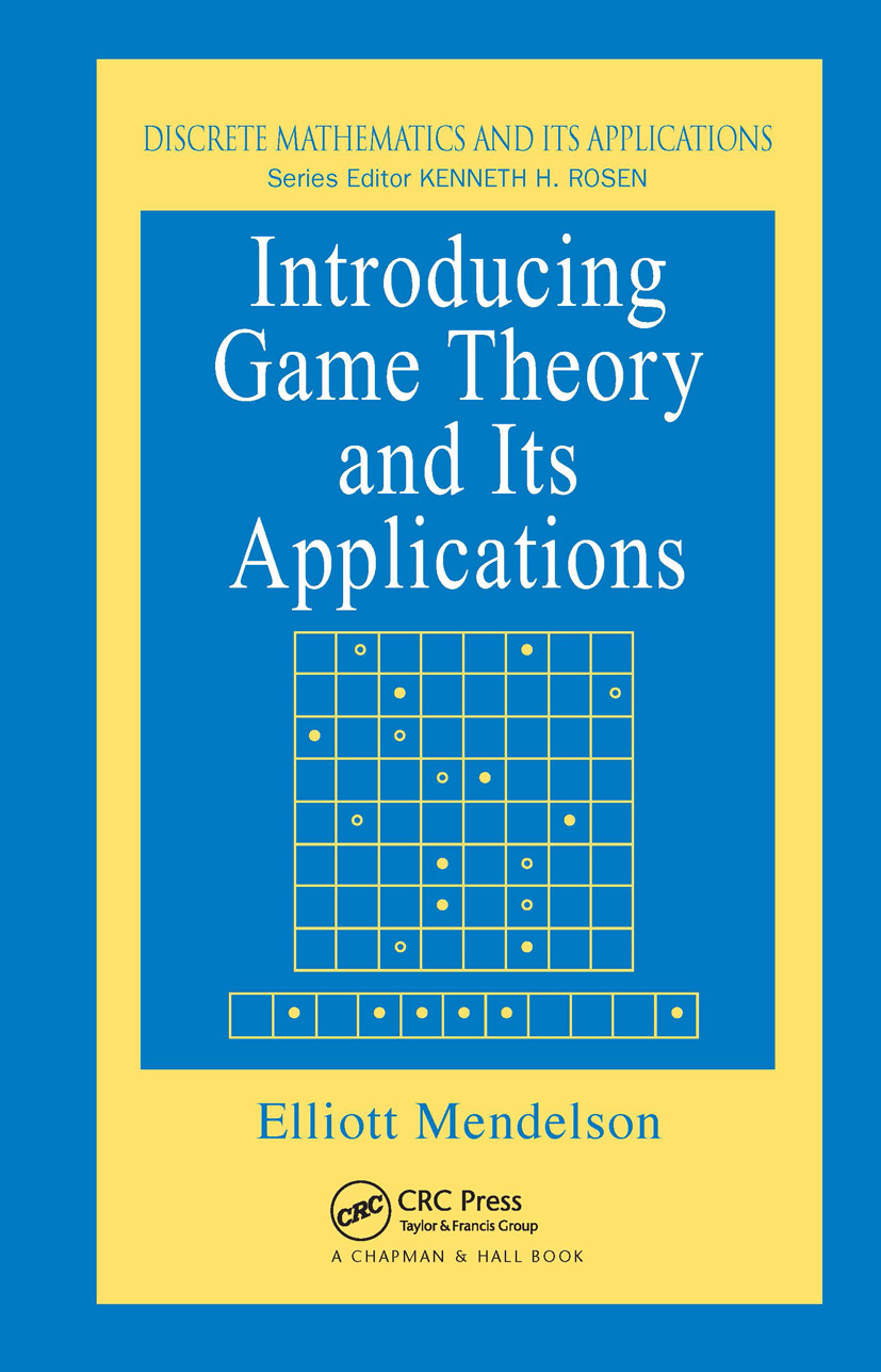 Introducing Game Theory and its Applications: 1st Edition (Hardback) book cover