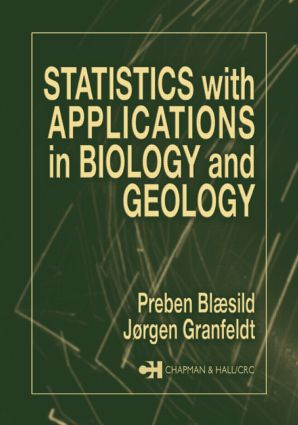Statistics with Applications in Biology and Geology: 1st Edition (Paperback) book cover