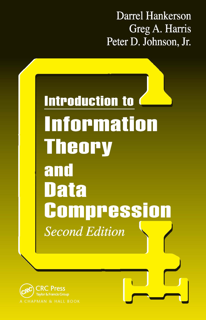 Introduction to Information Theory and Data Compression, Second Edition: 2nd Edition (Hardback) book cover