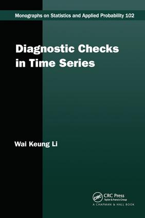 Diagnostic Checks in Time Series: 1st Edition (Hardback) book cover