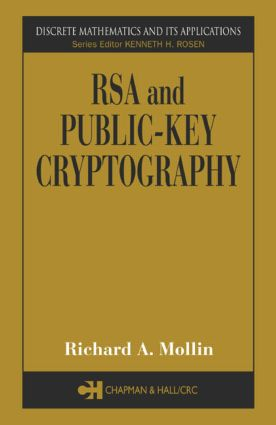 RSA and Public-Key Cryptography: 1st Edition (Hardback) book cover