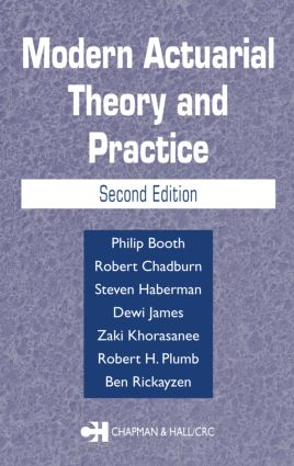 Modern Actuarial Theory and Practice: 2nd Edition (Hardback) book cover