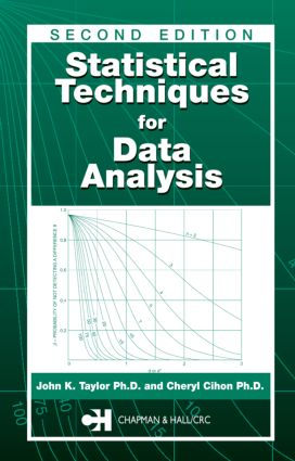 Statistical Techniques for Data Analysis: 2nd Edition (Hardback) book cover