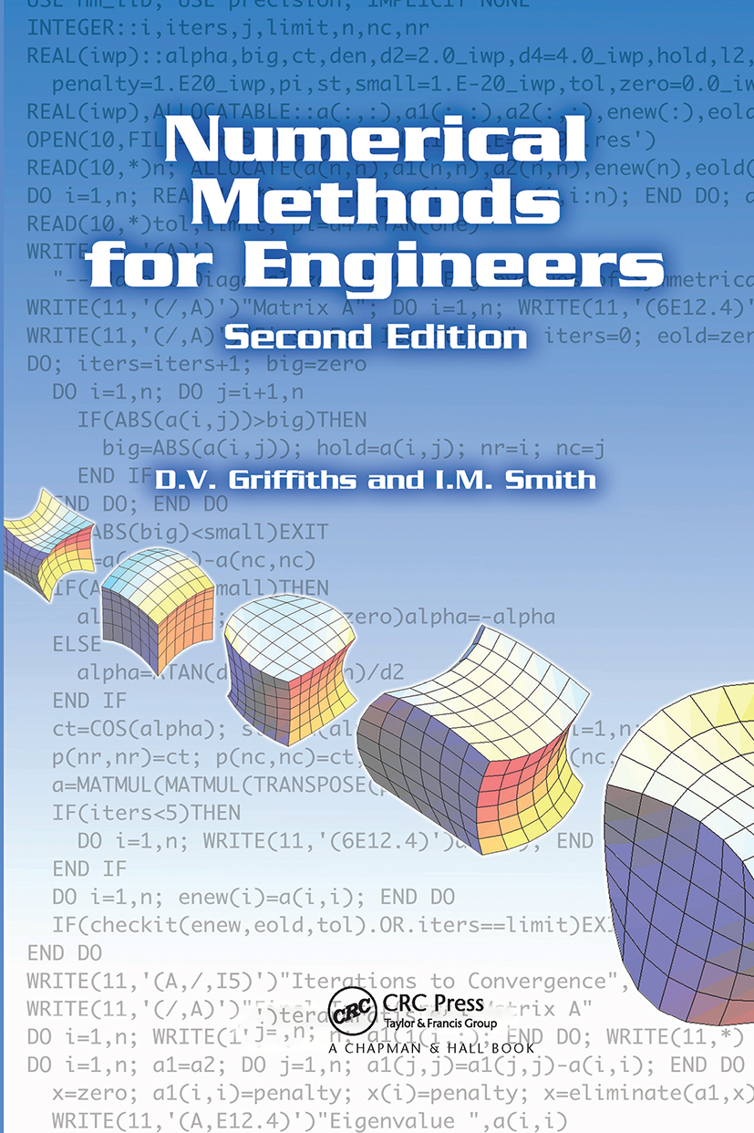 Numerical Methods for Engineers: 2nd Edition (Hardback) book cover