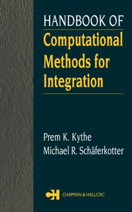 Handbook of Computational Methods for Integration: 1st Edition (Hardback) book cover