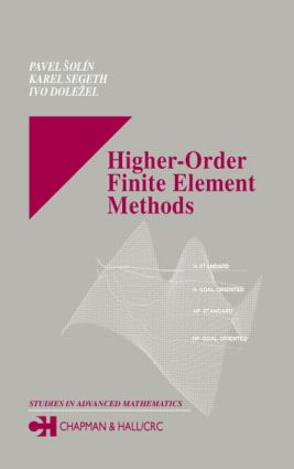 Higher-Order Finite Element Methods book cover