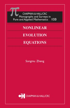 Nonlinear Evolution Equations: 1st Edition (Hardback) book cover