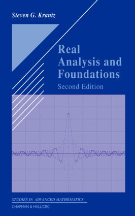 Real Analysis and Foundations: 2nd Edition (e-Book) - Routledge