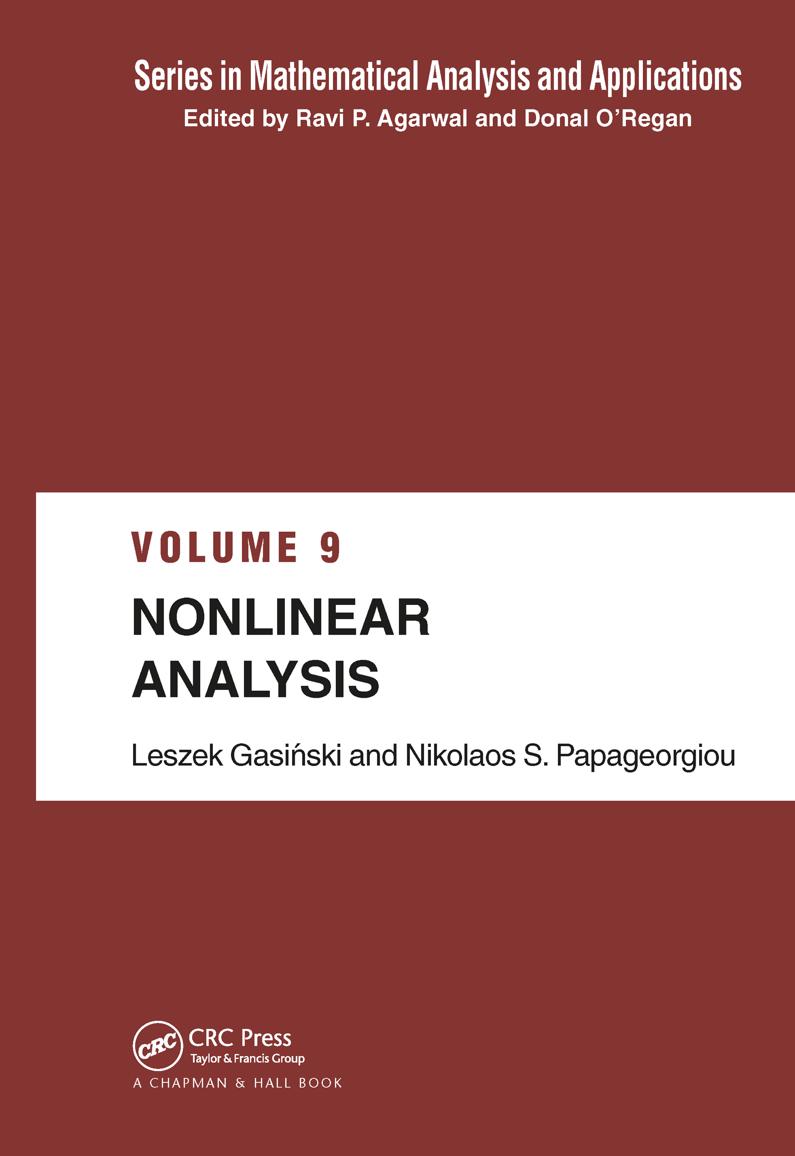 Nonlinear Analysis book cover