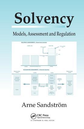 Solvency: Models, Assessment and Regulation, 1st Edition (Hardback) book cover