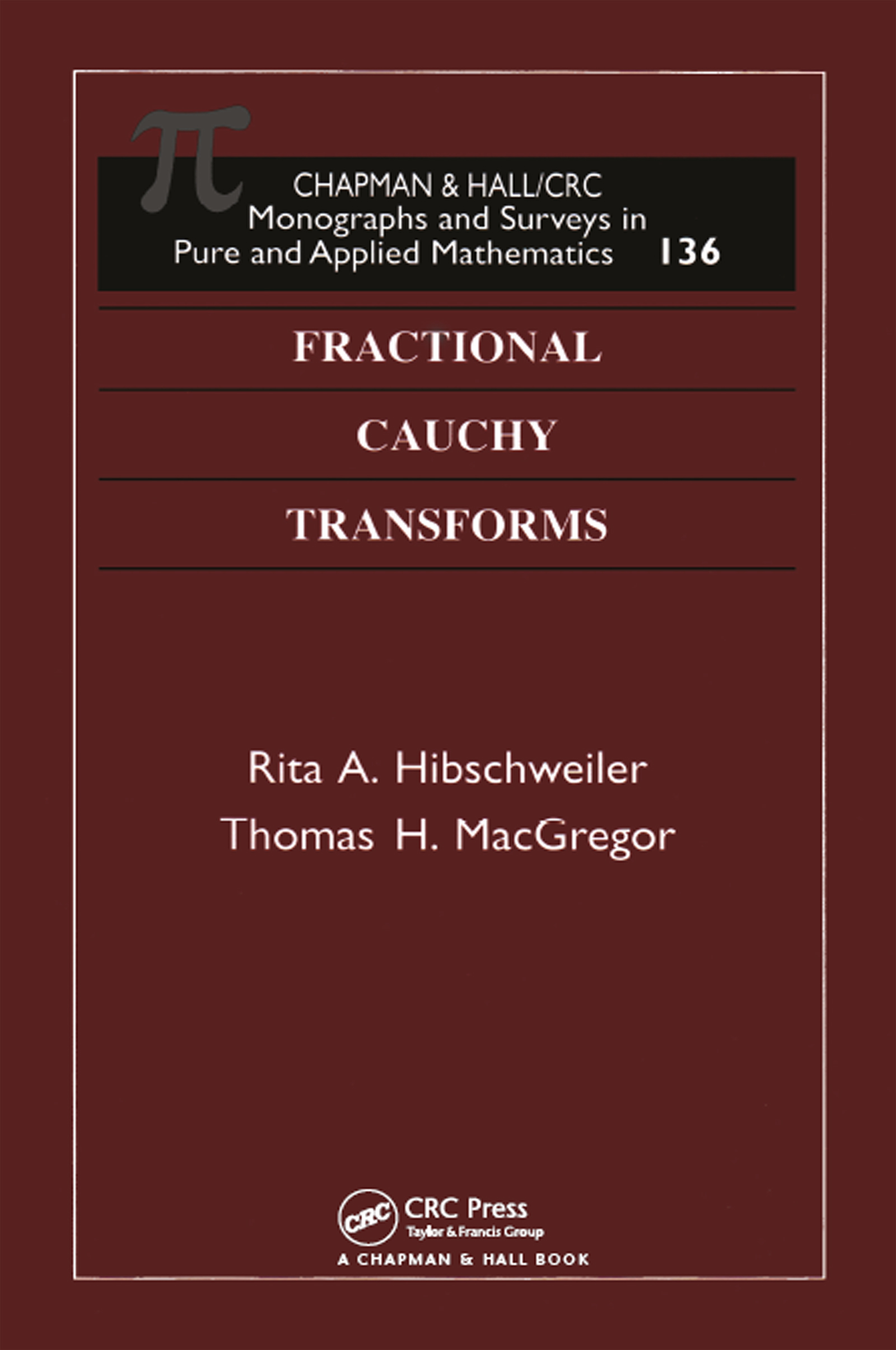Fractional Cauchy Transforms: 1st Edition (Hardback) book cover