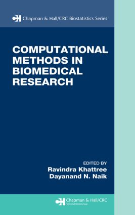 Computational Methods in Biomedical Research: 1st Edition (Hardback) book cover