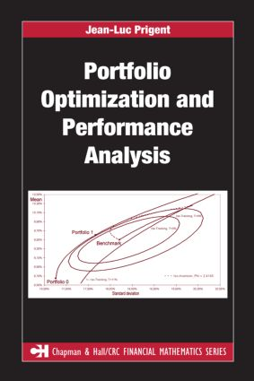 Portfolio Optimization and Performance Analysis: 1st Edition (Hardback) book cover
