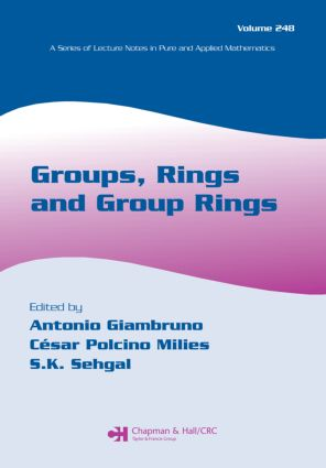 Groups, Rings and Group Rings: 1st Edition (Paperback) book cover