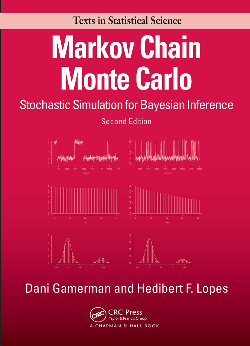 Markov Chain Monte Carlo: Stochastic Simulation for Bayesian Inference, Second Edition, 2nd Edition (Hardback) book cover
