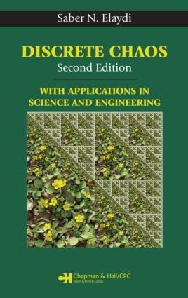 Discrete Chaos: With Applications in Science and Engineering, 2nd Edition (Hardback) book cover