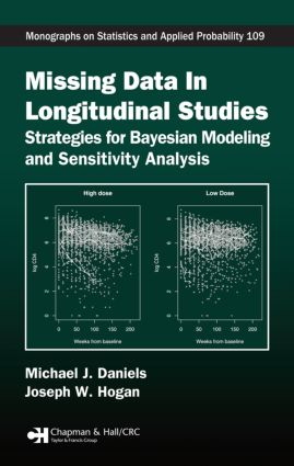 Missing Data in Longitudinal Studies: Strategies for Bayesian Modeling and Sensitivity Analysis book cover
