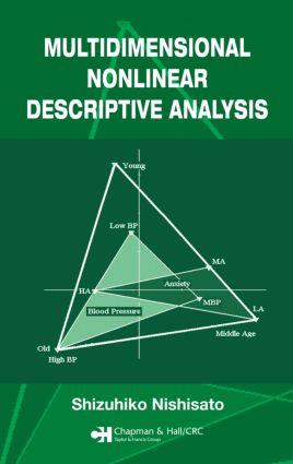 Multidimensional Nonlinear Descriptive Analysis (Hardback) book cover
