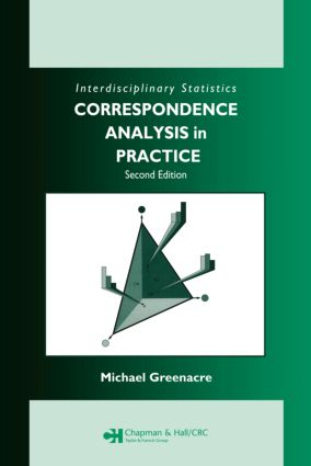 Correspondence Analysis in Practice, Second Edition: 2nd Edition (Hardback) book cover