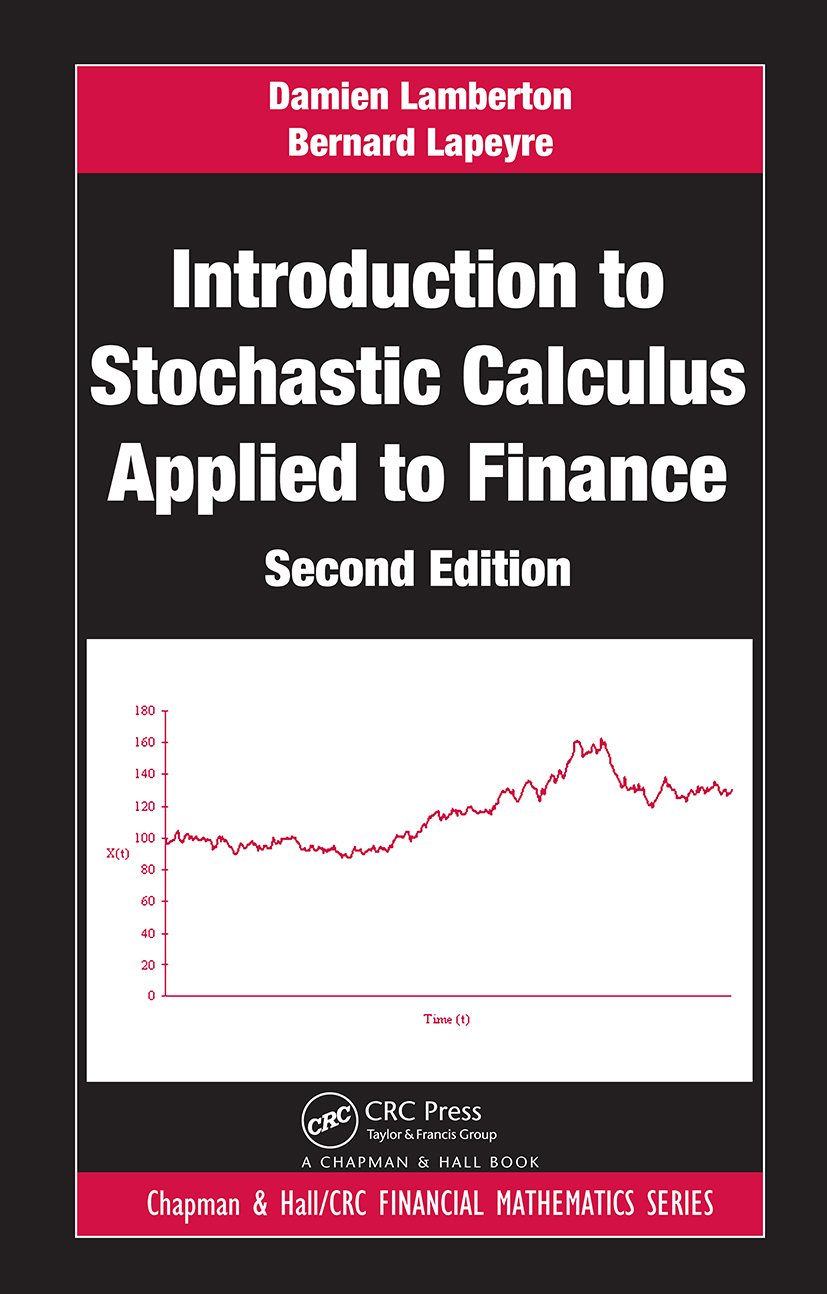 Introduction to Stochastic Calculus Applied to Finance, Second Edition book cover