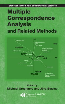 Multiple Correspondence Analysis and Related Methods (Hardback) book cover