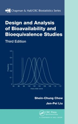 Design and Analysis of Bioavailability and Bioequivalence Studies: 3rd Edition (Hardback) book cover