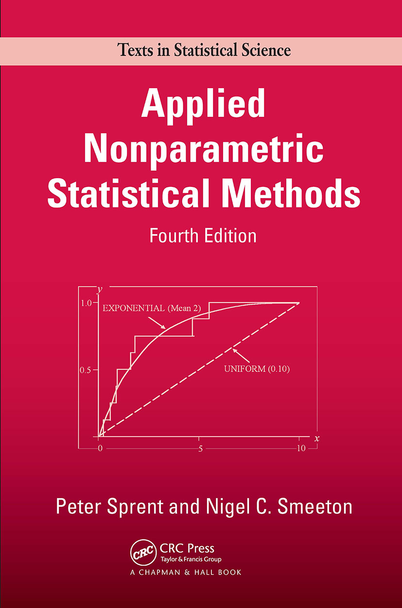 Applied Nonparametric Statistical Methods, Fourth Edition: 4th Edition (Hardback) book cover