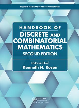 Handbook of Discrete and Combinatorial Mathematics: 2nd Edition (Hardback) book cover