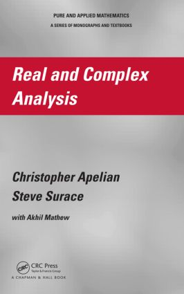 Real and Complex Analysis: 1st Edition (Hardback) book cover