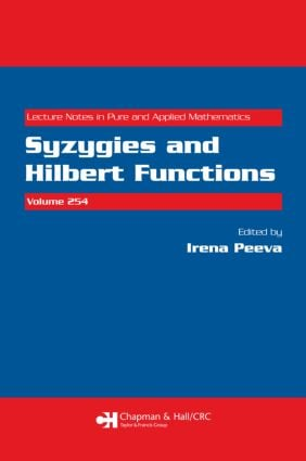 Syzygies and Hilbert Functions: 1st Edition (Paperback) book cover