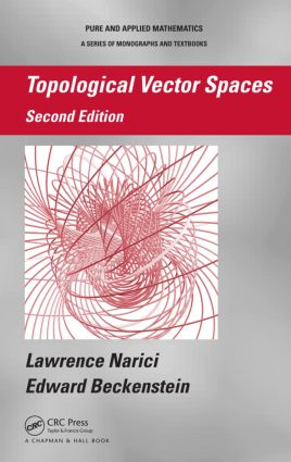 Topological Vector Spaces: 2nd Edition (Hardback) book cover