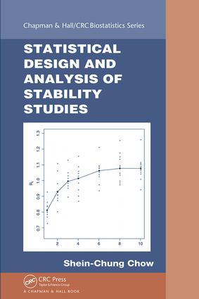 Statistical Design and Analysis of Stability Studies: 1st Edition (Hardback) book cover