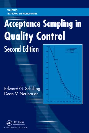 Acceptance Sampling in Quality Control, Second Edition: 2nd Edition (Hardback) book cover
