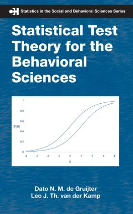 Statistical Test Theory for the Behavioral Sciences (Hardback) book cover
