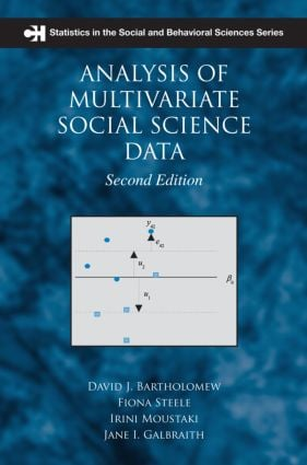 Analysis of Multivariate Social Science Data, Second Edition: 2nd Edition (Paperback) book cover