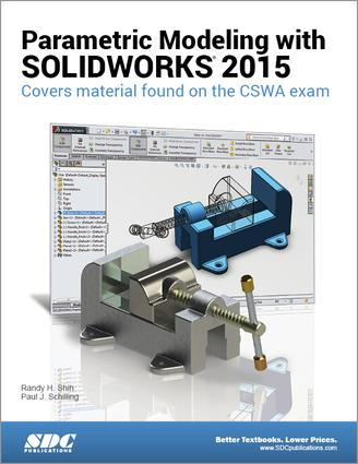 Parametric Modeling with SOLIDWORKS 2015: 1st Edition (Paperback) book cover