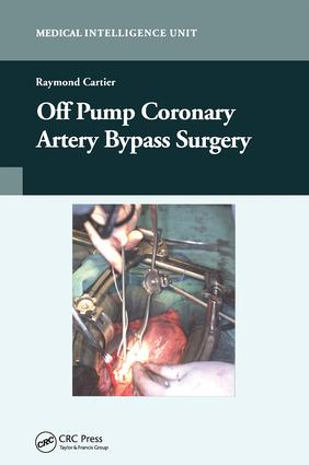 Off-Pump Coronary Artery Bypass Surgery: 1st Edition (Hardback) book cover