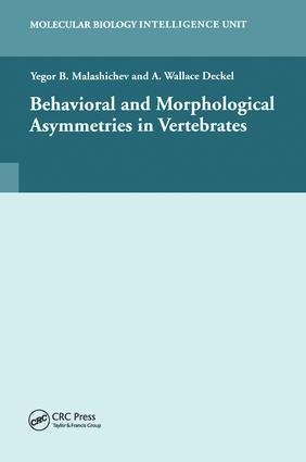 Behavioural and Morphological Asymmetries in Vertebrates: 1st Edition (Hardback) book cover